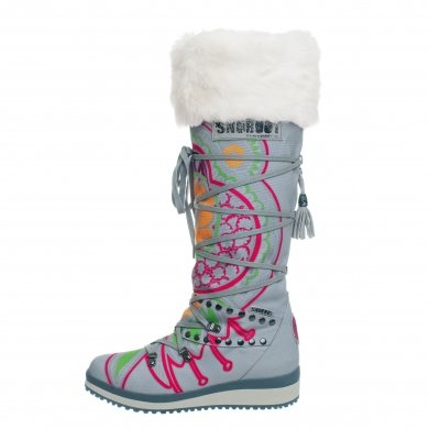 Snoboot Mutant High Tattoo Color silver Winterschuhe Damen (Gr��e 38)