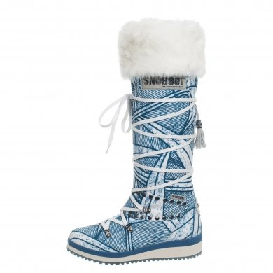 Snoboot Mutant High Stamp blau Winterschuhe Damen (Größe 38+39)