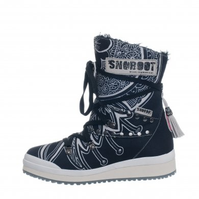 Snoboot Mutant Low Tattoo Basic schwarz Winterschuhe Damen (Größe 38)