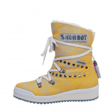 Snoboot Mutant Low Tattoo Basic gelb Winterschuhe Damen