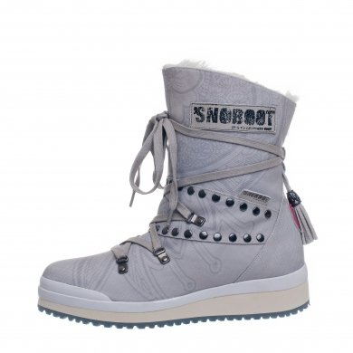 Snoboot Mutant Low Tattoo Basic silver Winterschuhe Damen (Größe 37+38)