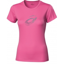 Asics Shirt Graphic NEW pink Damen (Gr��e L+XL)