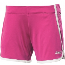 Asics Short Knit pink Damen
