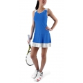 KSwiss Kleid Game Pleat blau Damen