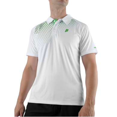 Prince Polo Graphic weiss Herren