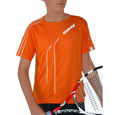 Babolat Tshirt Club 2011 orange Boys