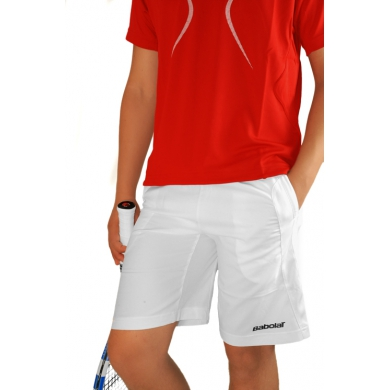 Babolat Short Club 2013 weiss Boys