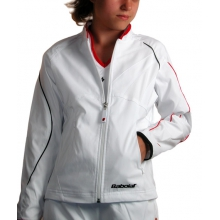 Babolat Jacket Club New weiss Girls (Gr��e 128)