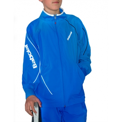 Babolat Jacket Club New blau Boys (Größe 140)