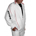 Babolat Jacket Club New weiss Boys