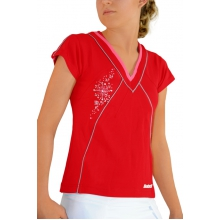 Babolat Shirt Performance 2011 rot Girls (Gr��e 140+164)