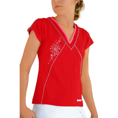 Babolat Shirt Performance 2011 rot Girls (Gr��e 164)