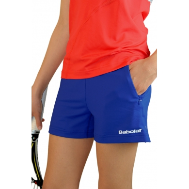 Babolat Short Performance 2013 blau Girls