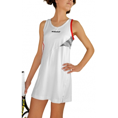 Babolat Kleid Performance 2013 weiss Girls