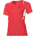 Asics L2 V-Neck red Damen (Größe M)