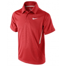 Nike Polo NET UV rot Boys (Gr��e 164)