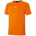 Asics L2 T-Shirt Graphic orange Herren (Größe L)