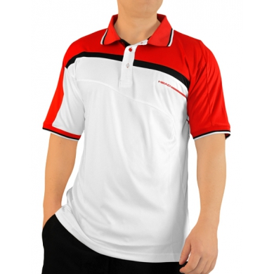 Head Polo Filippo 2012 weiss/rot Herren