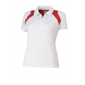 Head Polo Club Zip 2012 weiss/rot Damen