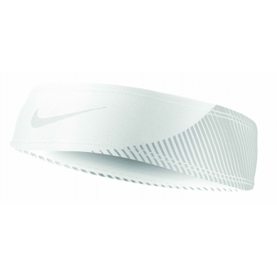 Nike Running Reflective Headband weiss