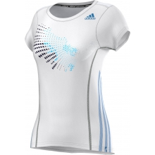 Adidas Shirt BT Graph Tee weiss Damen