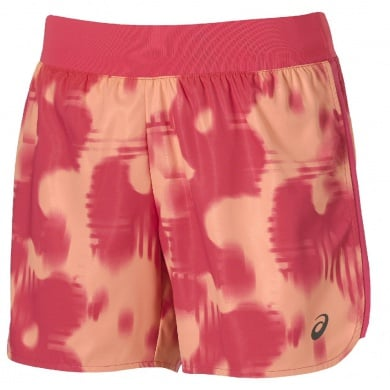 Asics Short FuzeX Printed 5,5 IN 2016 melon Damen (Größe M)