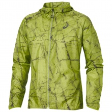 Asics Jacket Fujitrail Packable 2016 lime Herren