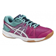 Asics Gel Upcourt 2016 pink/türkis Indoorschuhe Kinder
