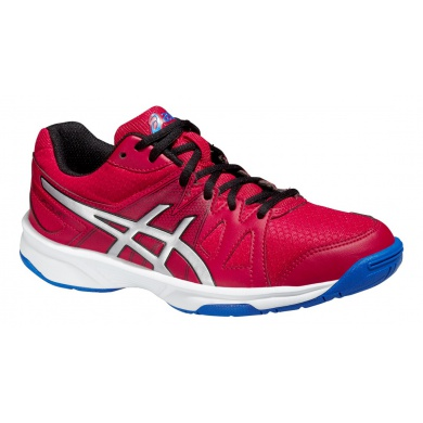 Asics Gel Upcourt 2015 rot Indoorschuhe Kinder