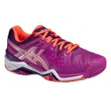 Asics Gel Resolution 6 2016 berry Tennisschuhe Damen