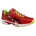 Asics Gel Solution Speed 3 2016 orange Tennisschuhe Herren