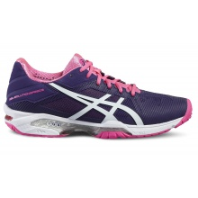 Asics Gel Solution Speed 3 2016 violett Tennisschuhe Damen