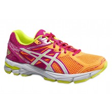 Asics GT 1000 3 orange/pink Laufschuhe Kinder (Gr��e 34,5)