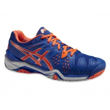 Asics Gel Resolution 6 2015 blau Tennisschuhe Herren