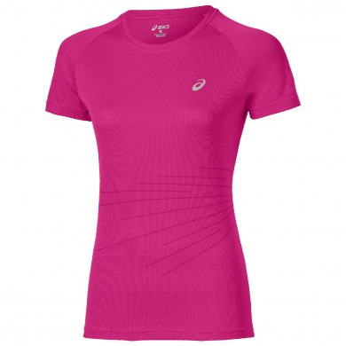 Asics Shirt Liteshow Graphic 2015 pink Damen