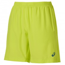 Asics Short Tennis Woven 9IN 2015 neonlime Herren