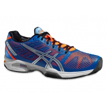 Asics Gel Solution Speed 2 Clay 2015 blau Tennisschuhe Herren