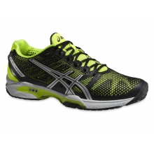 Asics Gel Solution Speed 2 schwarz/gelb Tennisschuhe Herren
