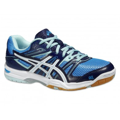 Asics Gel Rocket 7 2015 powderblue Indoorschuhe Damen