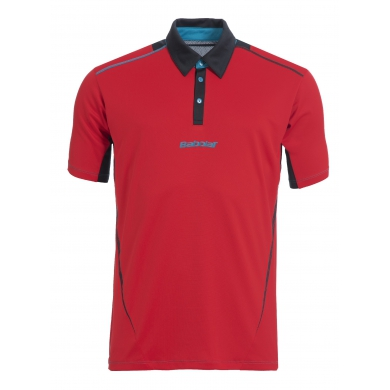 Babolat Polo Match Performance 2015 rot Herren