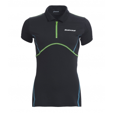 Babolat Polo Match Performance 2015 anthrazit Damen