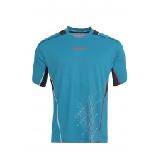 Babolat Tshirt Match Performance 2015 blau Boys