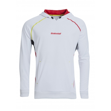 Babolat Sweatshirt Match Performance 2015 weiss Boys (Gr��e 140)