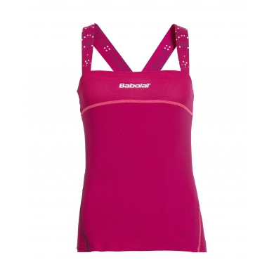 Babolat Tank Match Performance 2015 kirschrot Girls