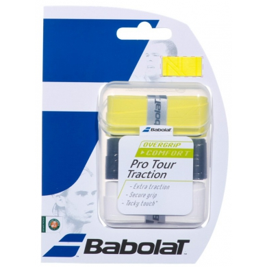 Babolat Pro Tour Traction Overgrip 3er sortiert