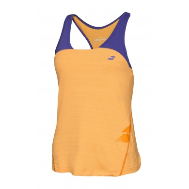Babolat Tank Racerback Performance 2016 orange Damen