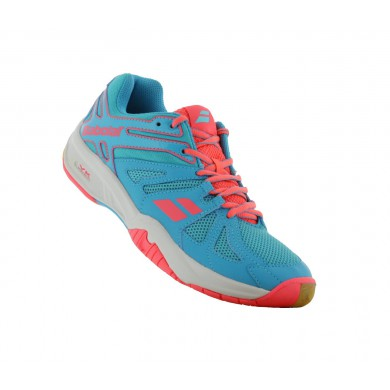 Babolat Shadow Team 2015 blau/rose Badmintonschuhe Damen