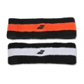 Babolat Stirnband Reversible schwarz/weiss/orange