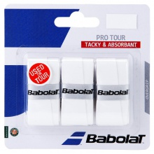 Babolat Pro Tour Overgrip 3er weiss