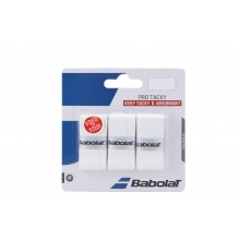 Babolat Pro Tacky 3er Overgrip weiss
